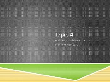 Envisions 4th Grade Topic 4