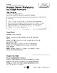 Envisions 4th grade Math pages and workbook TOPIC 7