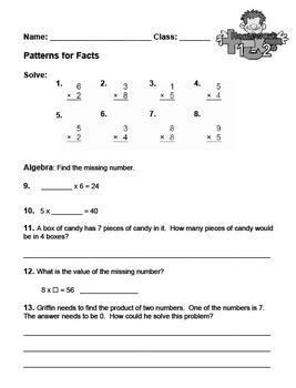 enVision Fourth Grade Math Topic 1 Homework Sheets
