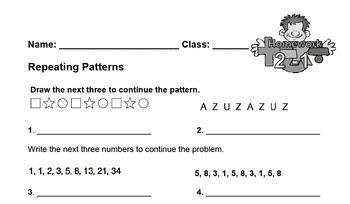 enVision Fourth Grade Math Topic 1 - 16 Homework Sheets