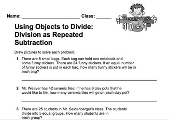 enVision Fourth Grade Math Topic 10 Homework Sheets