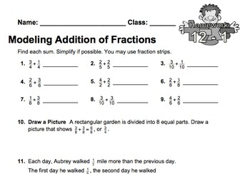 enVision Fourth Grade Math Topic 12 Homework Sheets