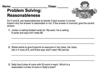 enVision Fourth Grade Math Topic 5 Homework Sheets