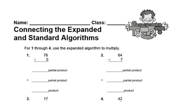 enVision Fourth Grade Math Topic 6 Homework Sheets