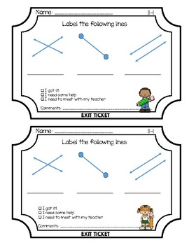 Envisions Grade 3 Topic 11 Exit Tickets