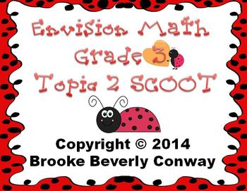 Envisions Grade 3 Topic 2 Review SCOOT