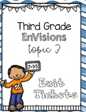 Envisions Grade 3 Topic 3 Exit Tickets and Supplementary M