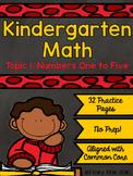 EnVision Kindergarten Topic 1