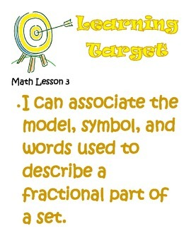 Third Grade Math Envisions Learning Targets/I Can Statements (Units 9 -16)