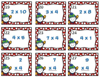 Envisions Math 6.3 SCOOT Freebie