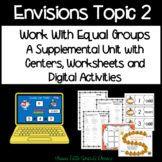 Envisions Math Second Grade Topic 2 Centers and Activities