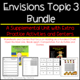 Envisions Topic 3 Add Within 100 Using Strategies Bundle - Second Grade