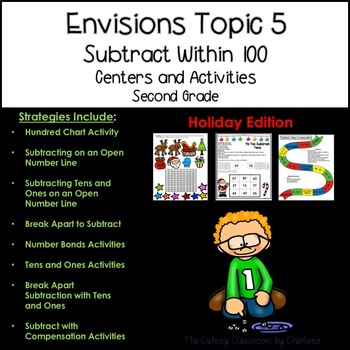 Envisions Topic 5 Subtract Within 100 Using Strategies