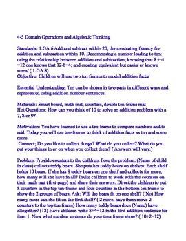 Envsion Math 4.5 Lesson Plan