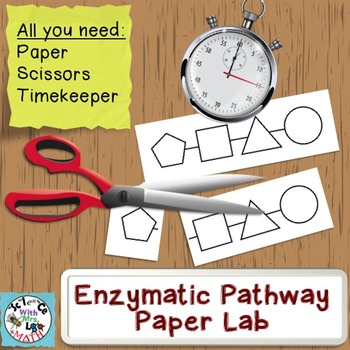Enzyme Lab: A Paper and Scissors Group Simulation