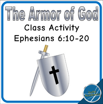 Ephesians 6 Armor of God Class Activity