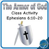 Ephesians 6 Armor of God Class Activity