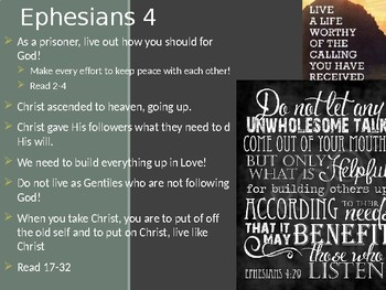 Ephesians Power Point Notes