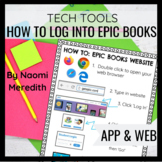 How to Log In Epic Books / Get Epic! Anchor Chart