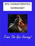 Epic Characteristics Worksheet