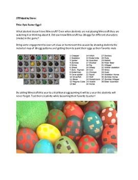 Epic Easter Eggs - Use Minecraft To Turn Traditional Into Epic!