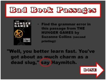 Epic Grammar FAIL - Fun Test Prep Review Game