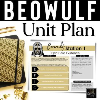 Beowulf Activities Worksheets Teachers Pay Teachers