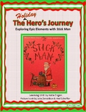 Stick Man:  An Epic Hero's Holiday Journey (picture book mini unit)