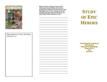 Epic Heroes Brochure