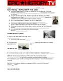 Epic History TV- World War I video guide questions. 1914-1