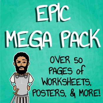 Epic Mega Pack - Heroic Journey, Epic Hero, & Elements of an Epic
