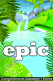 Epic Movie Guide + Activities - Answer Key Included (Color + Black & White)