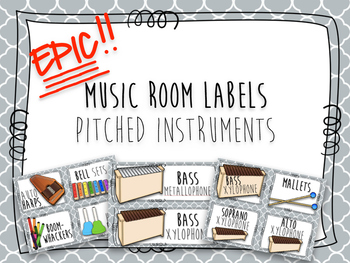 Epic Music Labels- Pitched Instruments