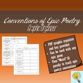 Epic Poem Conventions Worksheet