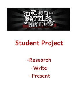 Epic Rap Battles of History Student Project