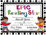 Epic Reading Awards Distance Learning