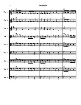 Epic Shuffle - for Beginning String Orchestra
