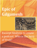 """Epic of Gilgamesh: A Podcast - Who can """"save"""" Uruk?"""