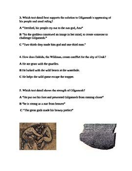 Epic of Gilgamesh Narrative Poem Mesopotamia Myth