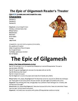 Epic of Gilgamesh Reader's Theater