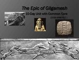 Epic of Gilgamesh Unit:10-Day Plan,Full Text+DQs,PPT,Quiz,Keys,Essay,Common Core