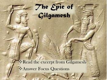 Epic of Gilgamesh World History