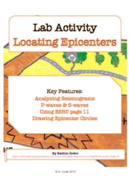 Epicenter BUNDLE - Lab, Worksheets, PowerPoints