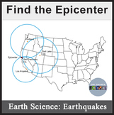 Epicenter and Earthquakes NGSS MS-ESS2-1