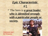 Epics and Epic Heroes Introduction Powerpoint