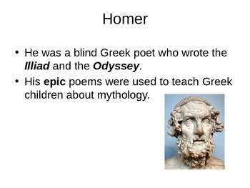 Epics and Mythology 6th grade Tennessee Standards