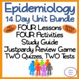 Epidemiology 14 Day NO PREP Unit Bundle: Lessons, Activities, Assessments