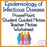 Epidemiology of Infectious Disease: PowerPoint, Student Guided Notes, Worksheet