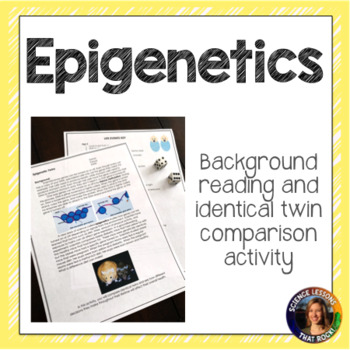 Epigenetics- Comparing Identical Twins