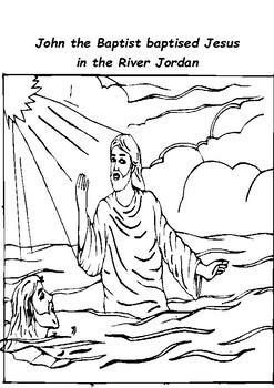 Epiphany 2  Jesus is Baptised